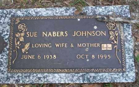 NABERS JOHNSON, SUE - Columbia County, Arkansas | SUE NABERS JOHNSON - Arkansas Gravestone Photos