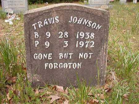 JOHNSON, TRAVIS - Columbia County, Arkansas | TRAVIS JOHNSON - Arkansas Gravestone Photos