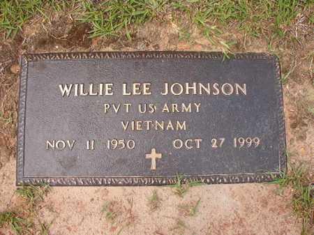 JOHNSON (VETERAN VIET), WILLIE LEE - Columbia County, Arkansas   WILLIE LEE JOHNSON (VETERAN VIET) - Arkansas Gravestone Photos