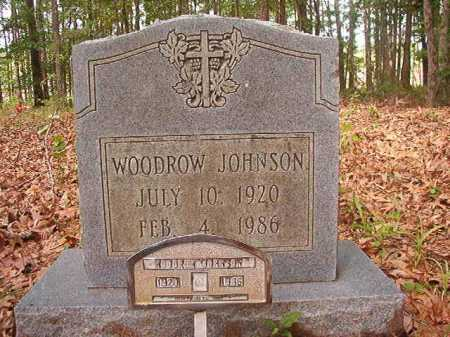 JOHNSON, WOODROW - Columbia County, Arkansas | WOODROW JOHNSON - Arkansas Gravestone Photos