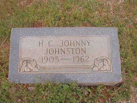 "JOHNSTON, H C ""JOHNNY"" - Columbia County, Arkansas | H C ""JOHNNY"" JOHNSTON - Arkansas Gravestone Photos"