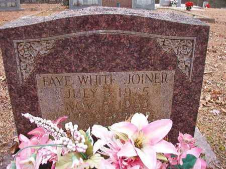 WHITE JOINER, FAYE - Columbia County, Arkansas | FAYE WHITE JOINER - Arkansas Gravestone Photos