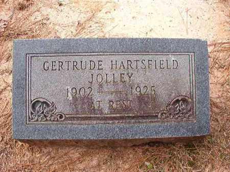 HARTSFIELD JOLLEY, GERTRUDE - Columbia County, Arkansas | GERTRUDE HARTSFIELD JOLLEY - Arkansas Gravestone Photos