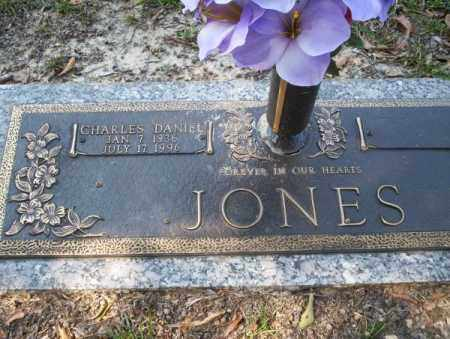 JONES, CHARLES DANIEL - Columbia County, Arkansas | CHARLES DANIEL JONES - Arkansas Gravestone Photos