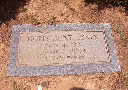 HUNT JONES, DORIS - Columbia County, Arkansas | DORIS HUNT JONES - Arkansas Gravestone Photos