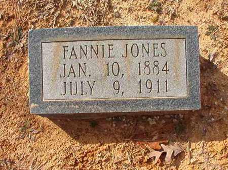 JONES, FANNIE - Columbia County, Arkansas   FANNIE JONES - Arkansas Gravestone Photos