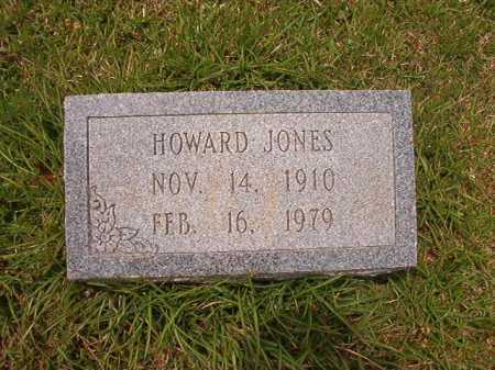 JONES, HOWARD - Columbia County, Arkansas | HOWARD JONES - Arkansas Gravestone Photos