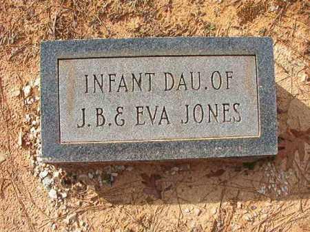 JONES, INFANT DAUGHTER - Columbia County, Arkansas | INFANT DAUGHTER JONES - Arkansas Gravestone Photos
