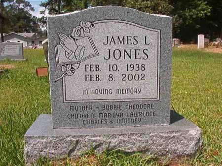 JONES, JAMES L - Columbia County, Arkansas   JAMES L JONES - Arkansas Gravestone Photos