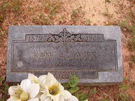 JONES, KATE A - Columbia County, Arkansas | KATE A JONES - Arkansas Gravestone Photos