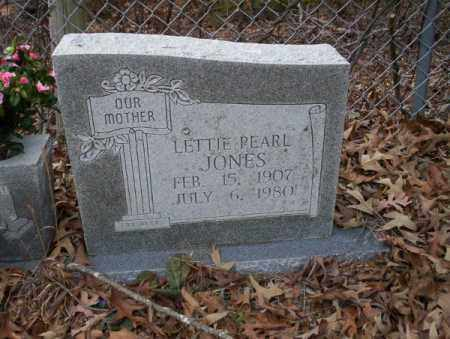 JONES, LETTIE PEARL - Columbia County, Arkansas | LETTIE PEARL JONES - Arkansas Gravestone Photos