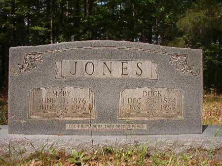JONES, DOCK - Columbia County, Arkansas | DOCK JONES - Arkansas Gravestone Photos