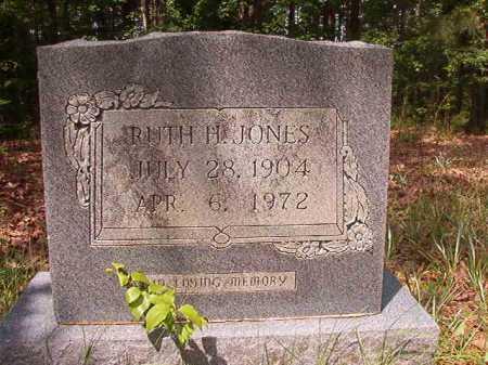 JONES, RUTH H - Columbia County, Arkansas | RUTH H JONES - Arkansas Gravestone Photos
