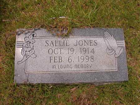 JONES, SALLIE - Columbia County, Arkansas | SALLIE JONES - Arkansas Gravestone Photos
