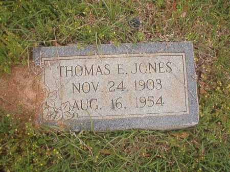 JONES, THOMAS E - Columbia County, Arkansas | THOMAS E JONES - Arkansas Gravestone Photos