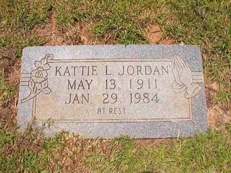 JORDAN, KATTIE L - Columbia County, Arkansas | KATTIE L JORDAN - Arkansas Gravestone Photos