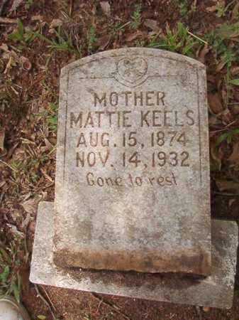 KEELS, MATTIE - Columbia County, Arkansas | MATTIE KEELS - Arkansas Gravestone Photos