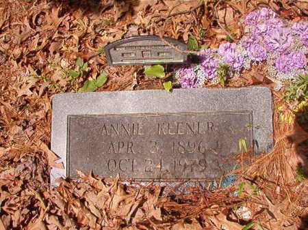 KEENER, ANNIE - Columbia County, Arkansas | ANNIE KEENER - Arkansas Gravestone Photos