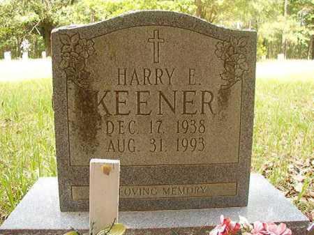 KEENER, HARRY E - Columbia County, Arkansas | HARRY E KEENER - Arkansas Gravestone Photos