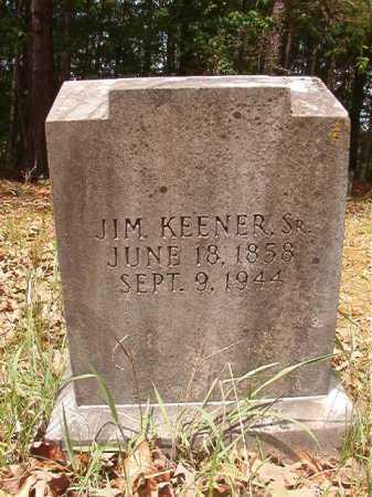 KEENER, SR, JIM - Columbia County, Arkansas | JIM KEENER, SR - Arkansas Gravestone Photos