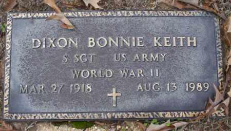 KEITH (VETERAN WWII), DIXON BONNIE - Columbia County, Arkansas | DIXON BONNIE KEITH (VETERAN WWII) - Arkansas Gravestone Photos
