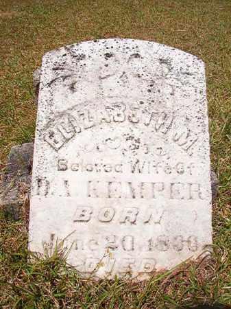 KEMPER, ELIZABETH M - Columbia County, Arkansas   ELIZABETH M KEMPER - Arkansas Gravestone Photos