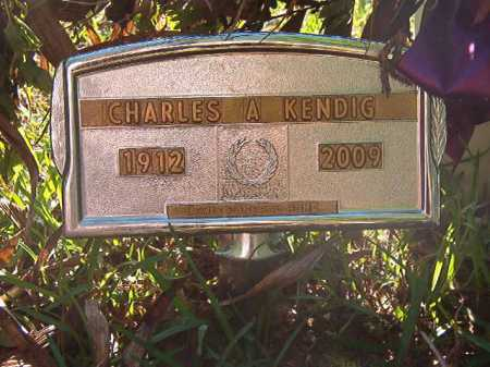 KENDIG, CHARLES A - Columbia County, Arkansas | CHARLES A KENDIG - Arkansas Gravestone Photos