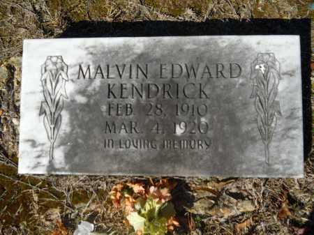 KENDRICK, MALVIN EDWARD - Columbia County, Arkansas   MALVIN EDWARD KENDRICK - Arkansas Gravestone Photos