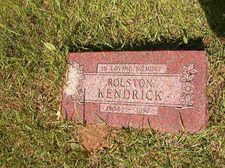 KENDRICK, ROLSTON - Columbia County, Arkansas   ROLSTON KENDRICK - Arkansas Gravestone Photos