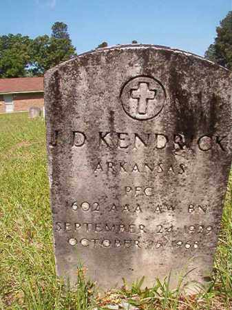 KENDRICK (VETERAN), J D - Columbia County, Arkansas | J D KENDRICK (VETERAN) - Arkansas Gravestone Photos