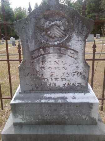 KING, JAMES G - Columbia County, Arkansas | JAMES G KING - Arkansas Gravestone Photos