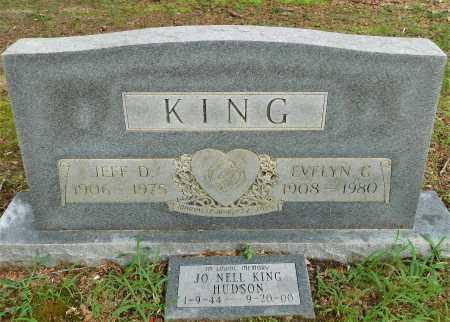 KING, EVELYN G - Columbia County, Arkansas | EVELYN G KING - Arkansas Gravestone Photos
