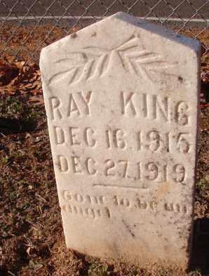 KING, RAY - Columbia County, Arkansas | RAY KING - Arkansas Gravestone Photos