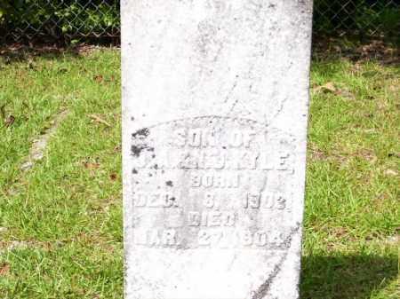 KYLE, INFANT SON - Columbia County, Arkansas   INFANT SON KYLE - Arkansas Gravestone Photos