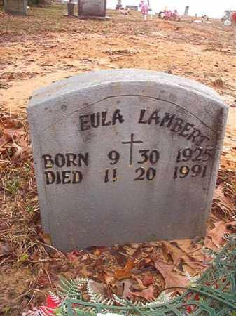 LAMBERT, EULA - Columbia County, Arkansas | EULA LAMBERT - Arkansas Gravestone Photos