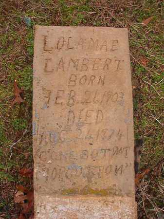LAMBERT, LOLA MAE - Columbia County, Arkansas | LOLA MAE LAMBERT - Arkansas Gravestone Photos
