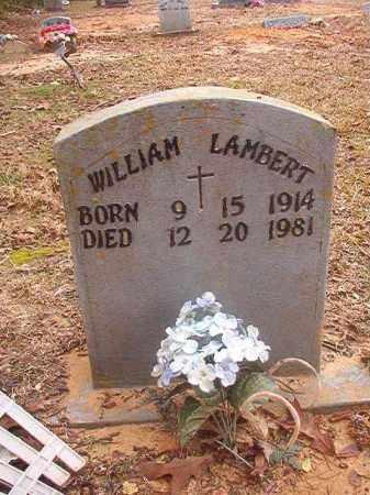 LAMBERT, WILLIAM - Columbia County, Arkansas   WILLIAM LAMBERT - Arkansas Gravestone Photos