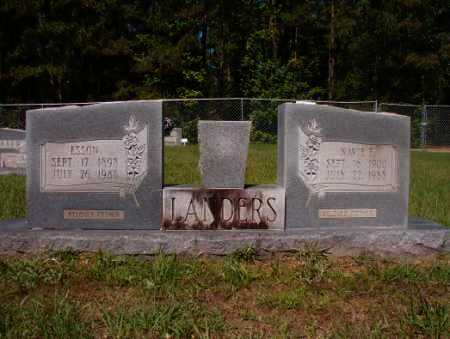 LANDERS, ESSON - Columbia County, Arkansas | ESSON LANDERS - Arkansas Gravestone Photos