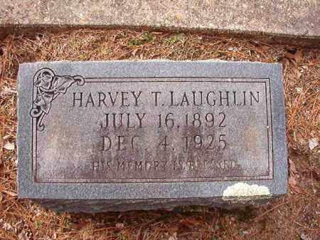 LAUGHLIN, HARVEY T - Columbia County, Arkansas   HARVEY T LAUGHLIN - Arkansas Gravestone Photos