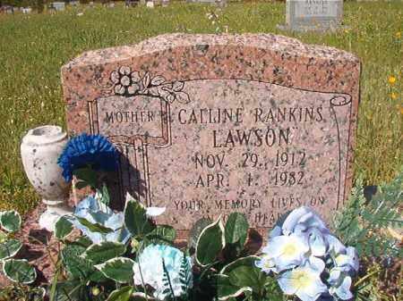 RANKINS LAWSON, CALLINE - Columbia County, Arkansas   CALLINE RANKINS LAWSON - Arkansas Gravestone Photos