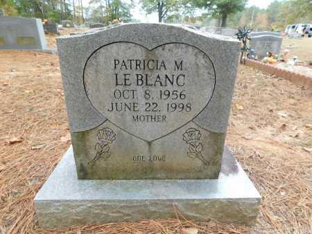 LEBLANC, PATRICIA M - Columbia County, Arkansas   PATRICIA M LEBLANC - Arkansas Gravestone Photos