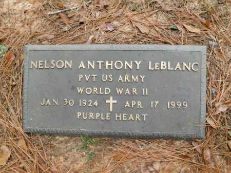 LEBLANC (VETERAN WWII), NELSON ANTHONY - Columbia County, Arkansas | NELSON ANTHONY LEBLANC (VETERAN WWII) - Arkansas Gravestone Photos