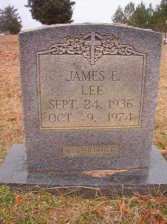 LEE, JAMES E - Columbia County, Arkansas | JAMES E LEE - Arkansas Gravestone Photos