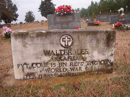 LEE (VETERAN WWI), WALTER - Columbia County, Arkansas | WALTER LEE (VETERAN WWI) - Arkansas Gravestone Photos