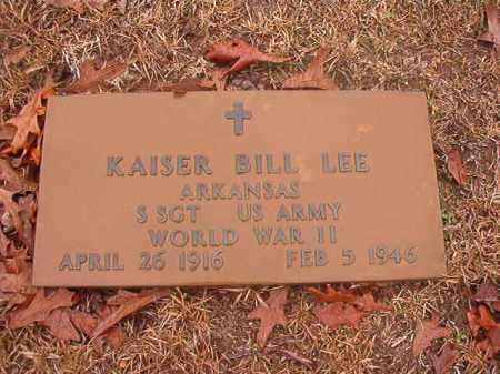 LEE (VETERAN WWII), KAISER BILL - Columbia County, Arkansas | KAISER BILL LEE (VETERAN WWII) - Arkansas Gravestone Photos