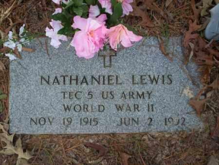 LEWIS (VETERAN WWII), NATHANIEL - Columbia County, Arkansas | NATHANIEL LEWIS (VETERAN WWII) - Arkansas Gravestone Photos