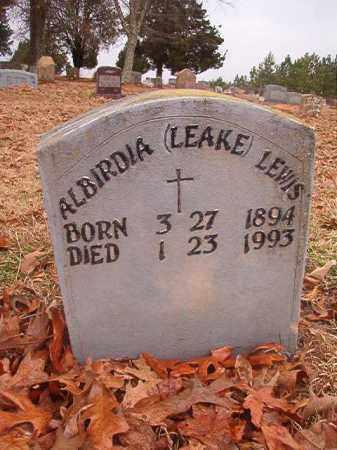 LEWIS, ALBIRDIA - Columbia County, Arkansas | ALBIRDIA LEWIS - Arkansas Gravestone Photos