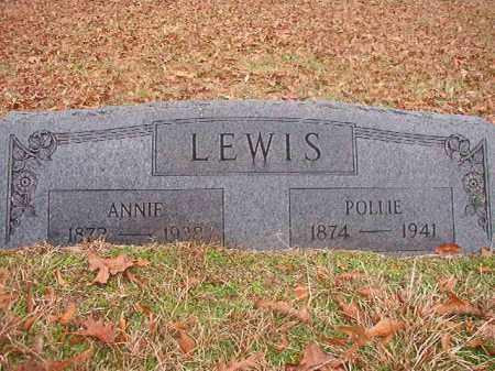 LEWIS, POLLIE - Columbia County, Arkansas | POLLIE LEWIS - Arkansas Gravestone Photos