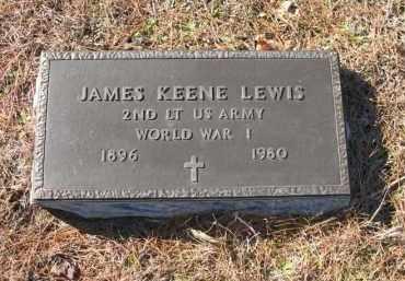 LEWIS (VETERAN WWI), JAMES KEENE - Columbia County, Arkansas | JAMES KEENE LEWIS (VETERAN WWI) - Arkansas Gravestone Photos