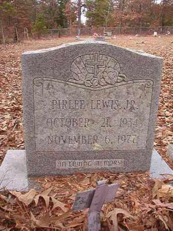 LEWIS, JR, PIRLEE - Columbia County, Arkansas | PIRLEE LEWIS, JR - Arkansas Gravestone Photos